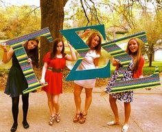 ΓΣΣ letter lovin' ♥ Gamma Sigma Sigma, Custom Greek Apparel, Sorority Outfits, Greek Clothing, Screen Printing, Spirit, Letters, Sweatshirts, Clothes
