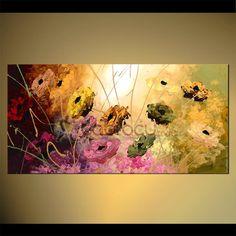 Pink Dream - Modern Dev Y. Tablolar Yağlıboya Tablo - Tablocu.Com ®   Türkiye´nin Yağlı Boya Tablo Mağazası