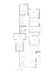 A functional Family Apartment,Plan
