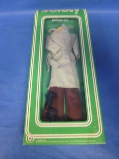 "Vintage 1976 Mego Bob Mackie Cher "" SONNY"" PRIVATE EYE Outfit. Good Condition #Mego #ClothingAccessories"
