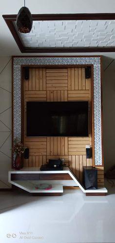 Fabulous Wall Unit Design Ideas For The Perfection Your Home 47 Lcd Wall Design, Lcd Unit Design, Wall Unit Designs, Living Room Tv Unit Designs, Tv Unit Bedroom, Small Tv Unit, Lcd Units, Panel Led, Tv Unit Furniture