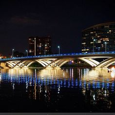The Rich Street Bridge on #Columbus' Scioto Mile