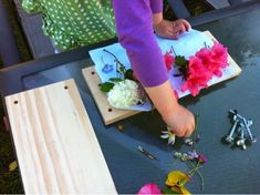 DIY Flower Press - How to make your own flower press