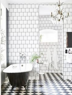 Tired of classic subway tiles? This square Scandinavian variation could be the next big thing!