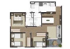 Small Tiny House, Small House Plans, House Floor Plans, Lofts, New Years Eve Party, Small Apartments, How To Plan, Architecture, Building