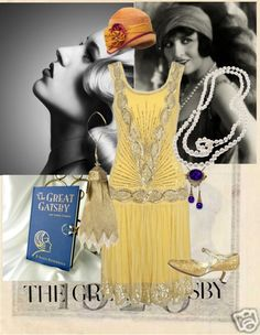 """""""1920'S FASHION...INSPIRED BY 'THE GREAT GATSBY'"""" by winniethefashionista ❤ liked on Polyvore"""