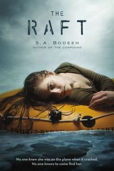 The Raft by S.A. Bodeen. A survival novel on the 2015 Nutmeg Nominee list. Read it for middle school book club. After a plane crash, teenager Robie is stranded on a raft in the ocean with a co-pilot who is mostly unconscious. How will she survive? Awesome ending! Almost every chapter is a cliffhanger so good for reluctant readers. 3.5 out of 5 stars. Recommend to grades 6 and up.