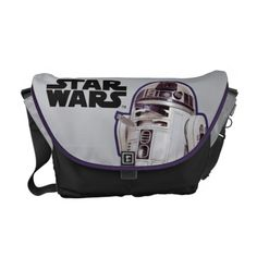 R2-D2 Badge Messenger Bags - customize it. Amazing!!!!!!