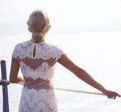 atypical wedding dress