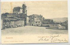 Camerino, veduta dalla rocca, 1902.