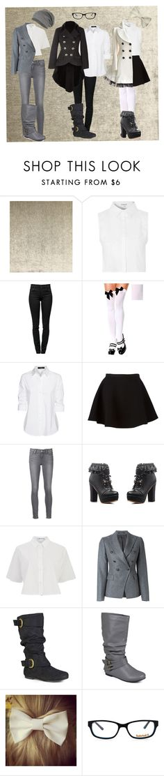 """""""Untitled #10"""" by minyxxngi ❤ liked on Polyvore featuring Glamorous, Proenza Schouler, Steffen Schraut, Neil Barrett, Paige Denim, Nana', T By Alexander Wang, Tagliatore, Journee Collection and Timberland"""