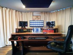 MIZA X2 as the centerpiece of the all new and improved mastering room at Soundstall Mastering, Switzerland.