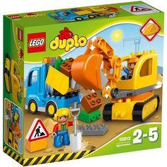 Lego Duplo Truck & Excavator