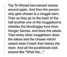 This why i want to be muggleborn or a half blood who lives in the muggle world, this would be so awesome!!