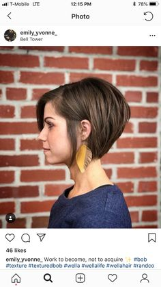 120 best ways to wear short hair in 2019 page 42 Bobs For Thin Hair, Short Bob Hairstyles, Bride Hairstyles, Short Hair Cuts, Summer Short Hair, Growing Out Short Hair, Cute Short Hair, Great Hair, Hair Today