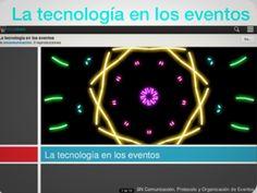 Eventos y tecnología