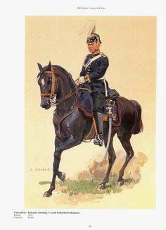 German; 1st Guard Field Artillery egt, Mounted Abteilung, Unteroffizier. Raised 1816. Home Depot Berlin, Guard Corps