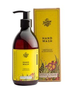 Give your hands a gentle wash and clean fragrance with this liquid hand soap from Ireland! Earthy notes from a cedarwood scent and tangy lemony notes from the sweet lemongrass give this Irish hand wash the perfect balance! Keep your hands nourished and protected with this beautifully bottled hand wash! The liquid hand soap is bottled in a 10 fluid ounce pump bottle for easy use and perfect for next to a faucet! The soap bottle is packaged in a lovely box that uses sustainable sources and…