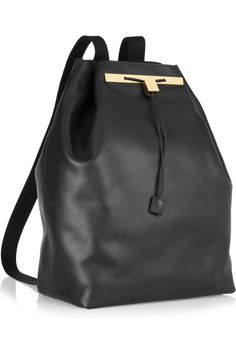 the row backpack -- tried it on at Barneys the other day and loved how soft the leather felt. BUT IT'S SO FREAKING EXPENSIVE