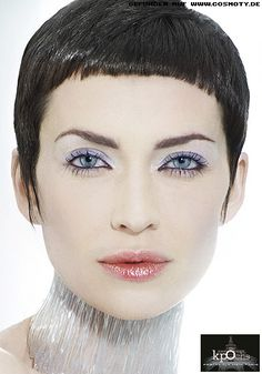Image result for blunt micro bangs grey
