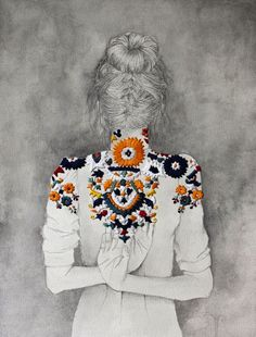 embroidered ...