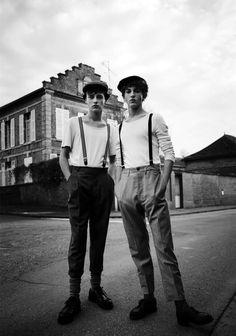 Billy Vandendooren & Martin Kessler 'Bohemian Youth' ph Fanny Latour Lambert for Apollo Magazine
