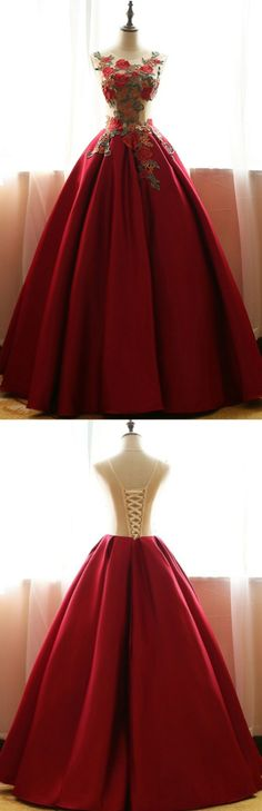 Gown Prom Dresses, Red Prom Dresses, Long Prom Dresses With Applique Sleeveless Floor-length, Long Prom Dresses, Long Red dresses, Red Long dresses, Long Red Prom Dresses, Prom Dresses Long, Prom Dresses Red, Red Long Prom Dresses, Prom Long Dresses
