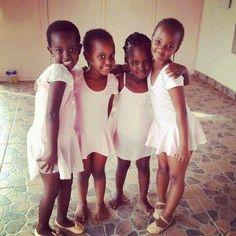 Ballet students at Rwanda's only classical ballet school. Photo: Caroline Joan Peixoto, City Arts
