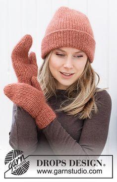 Knitting Patterns Free, Knit Patterns, Free Knitting, Drops Design, Knit Crochet, Crochet Hats, Crochet Diagram, Alpacas, Knitting Accessories