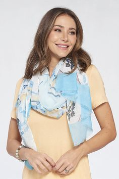 Taylor Floral Scarf by Accent Accessories Great Gifts For Mom, Floral Scarf, Scarves, Accessories, Scarfs, Jewelry Accessories