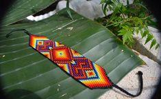 Tribal Bracelets, Beaded Bracelets, Loom Beading, Beading Patterns, Bead Loom Designs, Boho Festival, Leather Cuffs, Beaded Earrings, Seed Beads