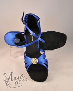 Blue Satin, Diamonte Button Dance Shoe Variety of heel heights available. Sizes from EU to EU Other sizes available to order. Available in other colours. For current prices and to order visit the website. Wedding Shoes Bride, Pretty Shoes, Blue Satin, Something Blue, Looking Stunning, Groom, Royalty, Dance Shoes, Bridesmaid