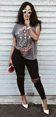 25 rocker chic winter outfits you will love