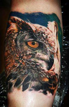 Realism Animal Tattoo by Iwan Yug - http://worldtattoosgallery.com/realism-animal-tattoo-by-iwan-yug-3/