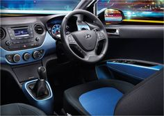 It's Monday! Why not brighten up your week with a vibrant choice of interior colours in the Hyundai i10? Call 04 486 919