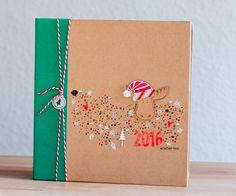 December Daily 2016 Cover Fototagebuch, Dezembertagebuch