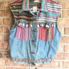 Shop Women's size L Vests at a discounted price at Poshmark. Description: Western Aztec vest 100% cotton small stain above button hole as pictured. Sold by quin35. Fast delivery, full service customer support.