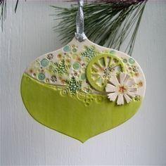 Rétro inspiré ornement de Noël porcelaine jumbley... stuffer gift/office...stocking hôtesse