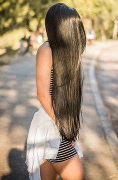 Uhair Mall Indian Virgin Hair Straight 3 Bundles With Lace Indian Human Hair Extensions Long Dark Hair, Very Long Hair, Indian Human Hair, Playing With Hair, Silky Hair, Beautiful Long Hair, Human Hair Extensions, Human Hair Wigs, Straight Hairstyles