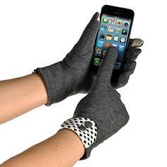 Binmer(TM)Womens Touch Screen Winter Warm Elegant Wrist Gloves Mittens (Gray) - http://todays-shopping.xyz/2016/08/14/binmertmwomens-touch-screen-winter-warm-elegant-wrist-gloves-mittens-gray/