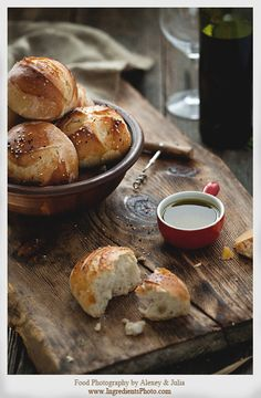 Bread Buns by Ingredients , via Behance