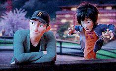 Tadashi & I - Hiro Hamada #RealHiroHamada I love their brother relationship so much.