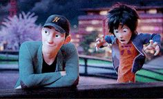 Tadashi & I - Hiro Hamada #RealHiroHamada I love their brother relationship so much. If Elsa and Anna actually grew up together instead of being secluded from one another, I think they would've had a better relationship like Hiro and Tadashi.