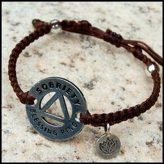 drug addiction recovery bracelet