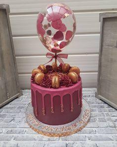 22nd Birthday Cakes, Birthday Cake Roses, Elegant Birthday Cakes, Beautiful Birthday Cakes, Birthday Cakes For Women, Birthday Cake Girls, Beautiful Cakes, Birthday Cake Designs, Birthday Cake For Women Elegant