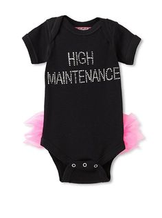 Born 4 Couture Baby High Maintenance Bodysuit with Tail Ruffles at MYHABIT