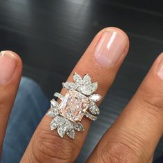 "75 Likes, 8 Comments - MIZRAHI DIAMONDS (@mizrahiofbeverlyhills) on Instagram: ""Happy Friday with this Beautiful pink Diamond #mizrahidiamonds #mizrahiofbeverlyhills…"""