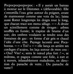 """Arno Schmidt. """"Paysage lacustre avec Pocahontas"""". Trad. Claude Riehl"""