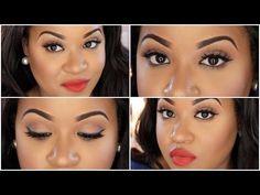 Classic Red Lip Makeup Tutorial | NitraaB - YouTube