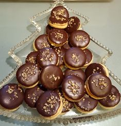 Christmas Desserts, Christmas Holidays, Trifle Desserts, Pampered Chef, Christmas Cookies, Frosting, Food And Drink, Yummy Food, Sweets